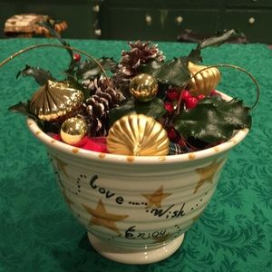 Vintage Bath and Body Works Holiday Bowl